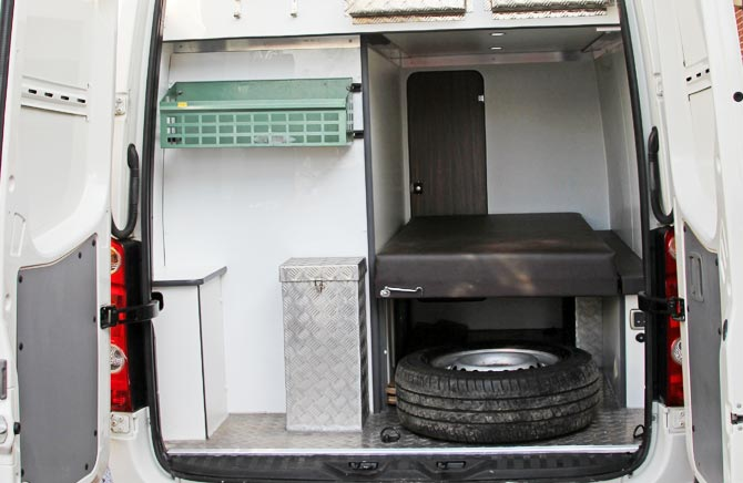 Welfare Unit Equipment